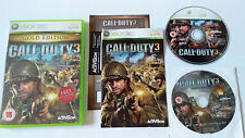 Call of Duty 3: Gold Edition - Xbox 360 - PAL UK **VGC Complete**