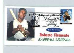 BASEBALL Legends Set of 11 covers with all 20 stamps! 2000 First Day covers, inc