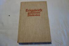 Kriegsbriefe gefallener Studenten. 1928, Philip Witkop