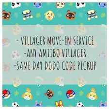 Animal Crossing New Horizons: Same Day Villager Delivery Service (Any Amiibo)