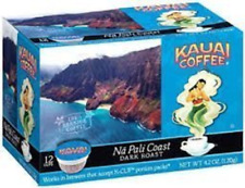 Kauai Coffee, K-Cup Single Serve, 12 Ct 4.2oz Box (Pack of 3) Na Pali Dark Roast