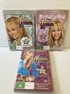 Disney Hannah Montana Complete Seasons 1 And 2 DVD The First Second Series PAL