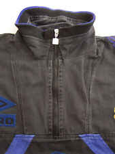 Manchester United Track Jacket Top XL Extra Large Warmup Umbro 1996-98 ITAx721 #