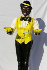 Black Boy Butler Dekofigur Statue Skulptur Kellner Diner lebensgroß Aufsteller