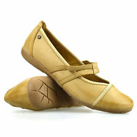 Womens Ladies Flat Mary Jane Walking Pumps Wide Fit Ballerina Comfort Shoes Size