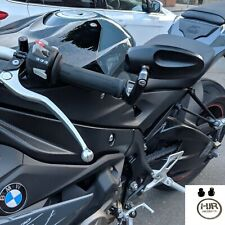 CNC Extremo Barra Espejos BMW S1000r Original Par de calidad de productos hjr