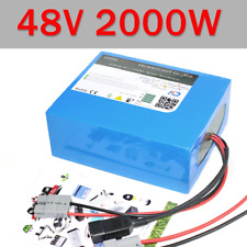 Free Tax 48V 20AH 2000W DIY Electric Bike Battery 48V E bike Battery Pack with 6