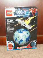 Star Wars Lego SEALED 9674 Planet Series 1 Naboo Starfighter & Naboo (56 pcs)