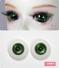 16mm acrylic eyes For BJD DOD AOD MK OK RD Doll Dollfie  green H8