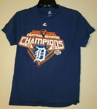 Majestic T shirt Short Sleeve Small S 2012 Los Angeles Dodgers Champions Blue