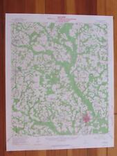 Quitman Georgia 1964 Original Vintage USGS Topo Map