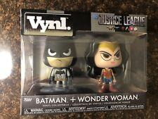 Funko Vynl. Batman & Wonder Woman. 2 Pack Vinyl Figures. New. Read Descriptions!