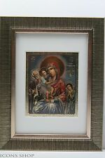 Christian Icon Of The Mother Of God Three Joy Икона Божьей Матери Трёх Радостей