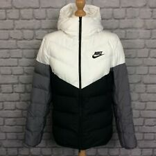 NIKE MENS UK L HOODED CHEVRON WINDRUNNER DOWN FILL JACKET PUFFA PUFFER