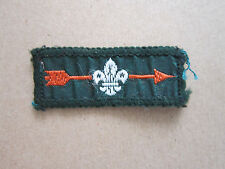 Bronze Arrow Woven Cloth Patch Badge Boy Scouts Scouting