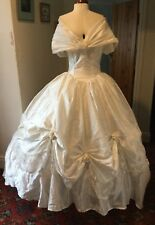 VICTORIAN STYLE CINDERELLA THEATRICAL WEDDING DRESS STAGE COSTUME