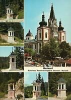 MARIAZELL POSTCARD - MULTIVIEWS - St. SEBASTIAN STATION, AUSTRIA - NEW