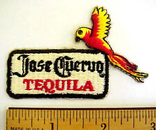 JOSE CUERVO TEQUILA EMBROIDERED STICK-ON WHISKEY LIQUOR TROPICAL PARROT PATCH