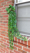 2 Bunches Artificial Ivy Leaf Vines Hangings one Head 14 stems