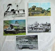 5 PHOTOS T34 PANZER III TIGER Tanks + KURSK BATTLE