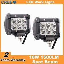 2pcs 4inch 18W CREE led work light lamp for car SUV Motocycle spot  beam