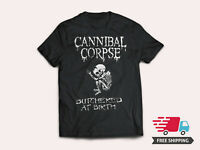 CANNIBAL CORPSE Trash Metal Rock Band Logo Men's Black T-Shirt Size S to 5XL T2