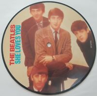 "BEATLES SHE LOVES YOU / I'LL GET YOU 20th Ann UK Picture disc 7"" vinyl"
