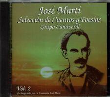 Grupo Canaveral Jose Marti Seleccion de Cuentos y Poesias  BRAND  NEW SEALED  CD