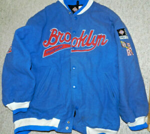 BROOKLYN ROYAL GIANTS NEGRO LEAGUE BASEBALL Jacket Headgear Museum 4XL