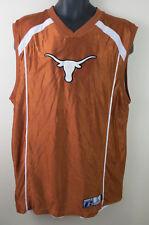 Texas Longhorns Reversible Basketball Vest Jersey Sports Top NCAA Mens XL