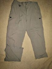 COLUMBIA / OMNI DRY - Men's Size  LARGE  / CONVERTIBLE  Pants - Light Weight