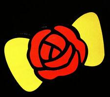 Flower BOW TIE Decor Sticker Car Auto Window Vinyl Decal Laptop Cute Girlie Gift