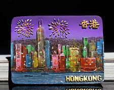 TOURIST SOUVENIR Resin 3D FRIDGE MAGNET ---- Hong Kong , China