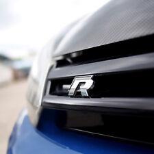 1 Pcs Black R Line Rline Grill Sticker Badge Emblems For Golf All Model Fits