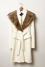Anthropologie Plenty by Tracy Reese Ivory Montaigne Coat Size 4 SOLD OUT $288