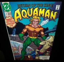 🌊Aquaman🌊#1 VF(1991, DC Comics)✨50th Anniverary✨Vulko⚡