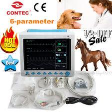 "12.1"" Portable 6-Parameter ICU Veterinary VET Patient Monitor Vital Signs,CE&FDA"