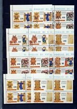 VATICAN 1980+1986 Europa Religion Blocks MNH Used (80 Stamps)NT 8994