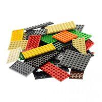 50 x Lego System City Platten Platte Grösse Farbe zufällig bunt gemischt Bauplat