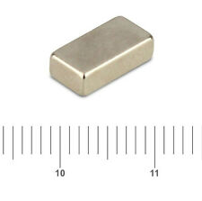 5 x Very Strong Neodymium Block Magnets 10 X 5 X 3mm craft FREEPOST FRIDGE
