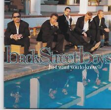 Backstreet Boys-Just Want You To Know cd single