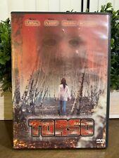 Torso (DVD, 2000 Widescreen Collectors Edition) MINT Disc Cond Complete w Ins 1Q