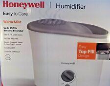 Honeywell 1.3 Gallon Top-Fill Warm Mist Humidifier, Hwm-340, White