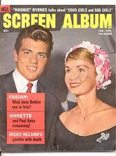 SCREEN ALBUM  Feb-Apr 1960 - Complete Issue