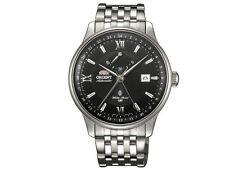 New Orient Automatic GMT SDJ02002B0 FDJ02002B0 Mens Watch Japan Black