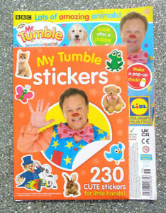 CBEEBIES MR TUMBLE SOMETHING SPECIAL STICKERS MAGAZINE  #22 ~ 2021 ~ NEW ~