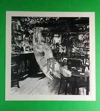 Led Zeppelin B&W Through The Out Door Square Mini Poster 8x8 Music Lithograph