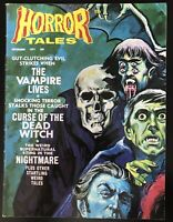 HORROR TALES VOL3 NO.5 SEPT 1971 EERIE PUBLICATIONS Vampire Lives Dead Witch
