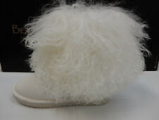 BEARPAW WOMENS BOOTS BOO WHITE SIZE 10