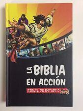 Biblia en accion de estudio TLA Lenguaje Actual Hard Cover